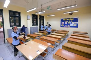 Dịch virus corona: Địa phương căn cứ thực tế để cho học sinh nghỉ học