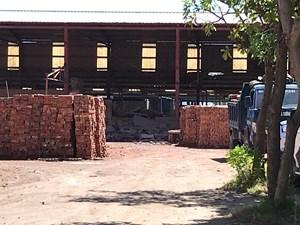 Nghệ An: Sập tường, 4 phạm nhân bị thương nặng