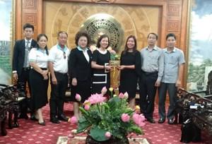 Thanh Hoá: Tìm hướng xúc tiến thương mại sang Thái Lan