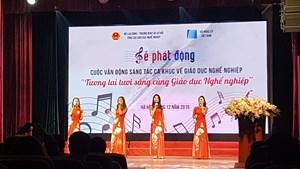 Phát động cuộc thi sáng tác ca khúc về giáo dục nghề nghiệp