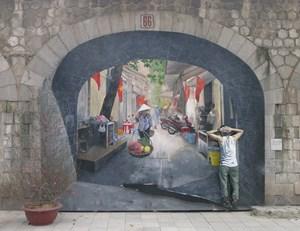[ẢNH] Cùng ngắm các tác phẩm nghệ thuật cộng đồng Phùng Hưng