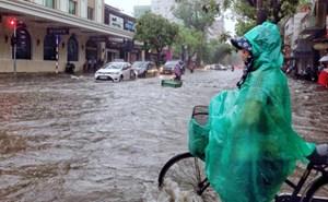 Ảnh hưởng của áp thấp nhiệt đới, đề phòng ngập úng tại các đô thị lớn