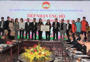 Hà Nội: Tiếp nhận hơn 4 tỷ đồng ủng hộ phòng, chống dịch Covid-19