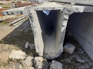 Quảng Ngãi họp báo vụ dầm cầu rơi gãy trong lúc đang thi công