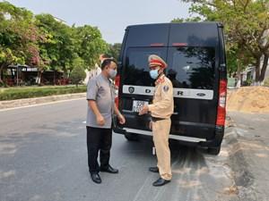 Quảng Nam: Lập 8 chốt kiểm soát, chống dịch Covid-19
