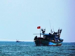 Tàu câu mực gặp nạn trên biển, một ngư dân mất tích