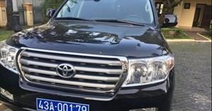 Đà Nẵng: Đấu giá 3 xe biển xanh đắt tiền do doanh nghiệp biếu, tặng