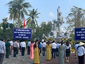 Lễ tưởng niệm 52 năm ngày 504 thường dân Sơn Mỹ bị thảm sát