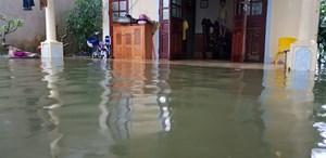 Nghệ An: Hàng ngàn học sinh nghỉ học vì mưa lớn