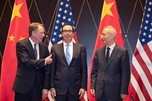 Mỹ, Trung Quốc nhất trí thúc đẩy thỏa thuận thương mại