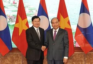 Tăng cường hơn nữa mối quan hệ hữu nghị đặc biệt Việt - Lào
