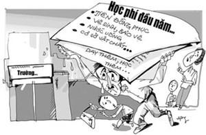 Ngăn chặn tình trạng lạm thu trong trường công