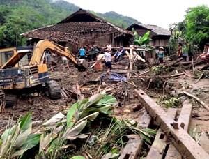 Mưa lớn gây thiệt hại tại Tuyên Quang