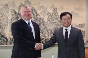 Mỹ, Hàn khẳng định mục tiêu phi hạt nhân hóa bán đảo Triều Tiên