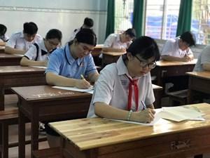 TP HCM công bố lịch thi tuyển sinh lớp 10