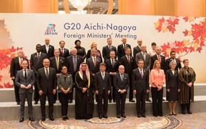 Hội nghị Bộ trưởng Ngoại giao G20: Thúc đẩy một trật tự thế giới dựa trên luật lệ, bình đẳng, công bằng và bền vững