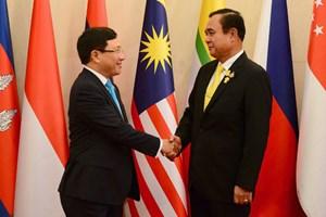 Hội nghị Bộ trưởng Ngoại giao ASEAN với các đối tác: Quan ngại về diễn biến phức tạp trên thực địa ở Biển Đông