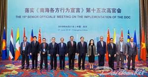 ASEAN - Trung Quốc họp về thực hiện DOC
