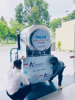 Quảng Nam: Lắp đặt 3 cây ATM gạo tại TP Tam Kỳ và huyện Núi Thành