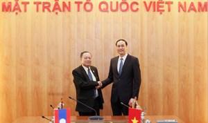 BẢN TIN MẶT TRẬN: Phó Chủ tịch Phùng Khánh Tài tiếp đoàn đại biểu Ủy ban Trung ương Mặt trận Lào xây dựng đất nước