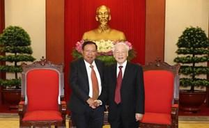 Giữ gìn và vun đắp cho mối quan hệ hữu nghị truyền thống Việt-Lào