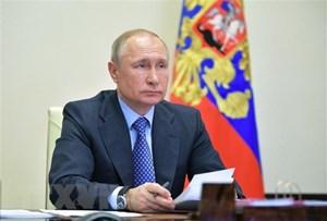 Tổng thống Putin gửi thông điệp chúc mừng ngày chiến thắng phátxít
