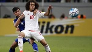 Cầu thủ UAE nhắc nhau thận trọng trước trận gặp tuyển Việt Nam