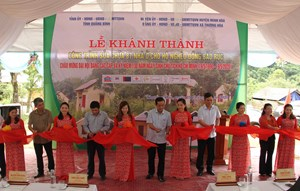 Quảng Bình: Khánh thành công trình sửa chữa 87 nhà ở cho đồng bào Rục