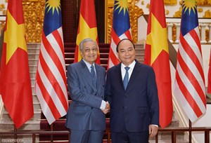 Việt Nam-Malaysia: Sớm đạt mục tiêu kim ngạch thương mại 15 tỷ USD