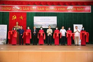Ông Trịnh Văn Quyết tài trợ xây hội trường - nhà văn hóa xã, đường giao thông tại vùng đất quê hương