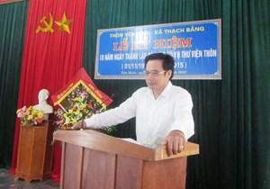 Hà Tĩnh: Khai trừ Đảng Bí thư Đảng ủy xã Thạch Bằng