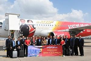 Vietjet khai trương đường bay TP HCM - Pattaya: Vi vu Giáng sinh và Năm mới