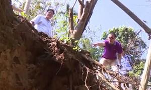 Bá Thước - Thanh Hóa: Xuất hiện các hố sụt lún bất thường