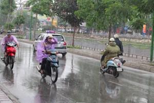 Bắc Bộ thời tiết se lạnh,Nam Bộ mưa rào và dông