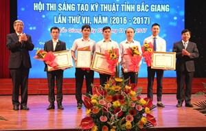 Bắc Giang: Tôn vinh các tài năng sáng tạo khoa học