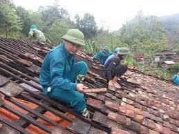 Bắc Kạn: Khẩn trương khắc phục hậu quả mưa đá, tố lốc