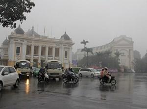 Bắc và Trung Bộ tiếp tục có sương mù, mưa rải rác