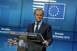 Liên minh châu Âu đã nhất trí gia hạn Brexit đến ngày 31/1/2020