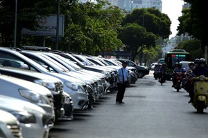 TP Hồ Chí Minh: Mở rộng các tuyến đường thu phí đậu xe