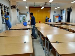 Phòng chống nCoV: Không để dịch bệnh  lây lan trong trường học