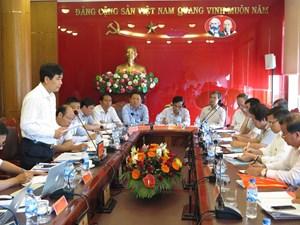 Ban Kinh tế Trung ương làm việc với Tỉnh ủy Quảng Ngãi
