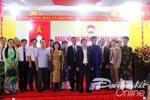 BẢN TIN MẶT TRẬN: Bộ trưởng Bộ VHTTDL dự Ngày hội đại đoàn kết tại Huế