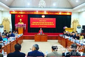 BẢN TIN MẶT TRẬN: Tìm giải pháp nâng cao hiệu quả của Hội đồng tư vấn