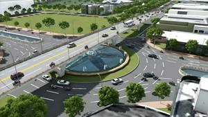 Đà Nẵng: Hơn 723 tỷ đồng cải tạo nút giao thông phía tây cầu Trần Thị Lý