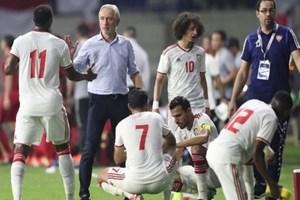 UAE lo ngại trước trận gặp Việt Nam