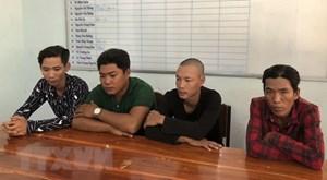Bắt giữ đối tượng cầm đầu băng nhóm cưỡng đoạt tài sản của ngư dân