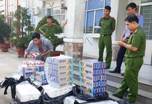 'Nóng' buôn lậu thuốc lá biên giới Tây Nam