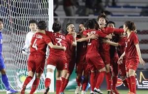 Tuyết Dung: 'Chúc U22 Việt Nam vô địch để bóng đá nam nữ đều vui'