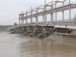 Bến Tre: 20 tỷ đồng khắc phục sự cố rò rỉ ở cống Sơn Đốc 2