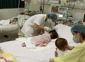 Bệnh sởi gia tăng đột biến tại Hà Nội